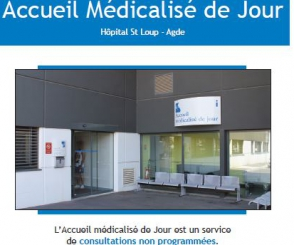 Accueil médicalisé de jour d'Agde