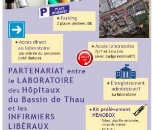 Partenariat entre le laboratoire et les IDE libéraux