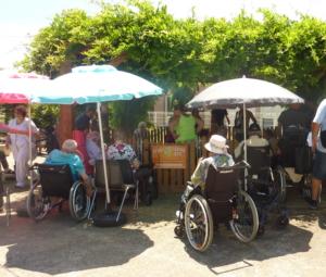Les Pergolines ont organisé  leur fête champêtre annuelle.