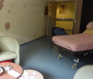 Espace Bien Naître à l'hôpital Saint-Clair
