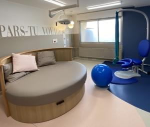 Inauguration de la salle d'accouchement physiologique